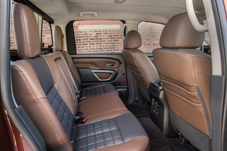 2017 Nissan Titan Half Ton First Drive Review Interior Seats