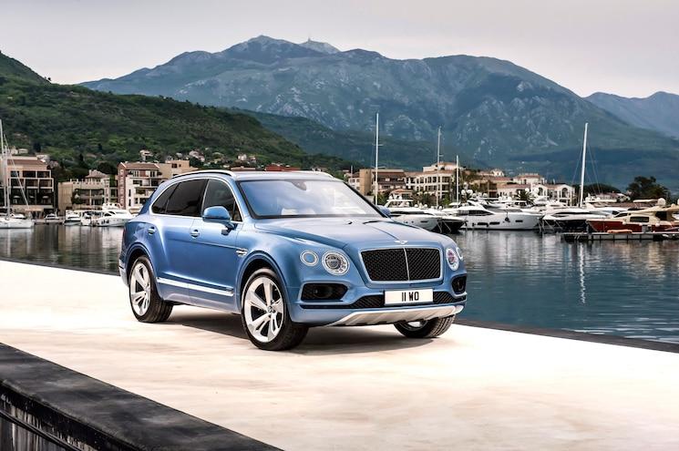 Bentley Reveals Bentayga Diesel, Slated for Sale in Europe in 2017