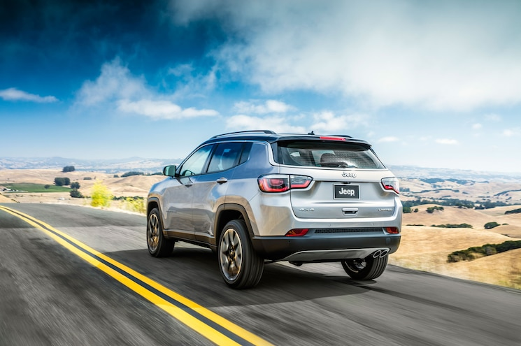 2018 Jeep Compass Rear Three Quarter