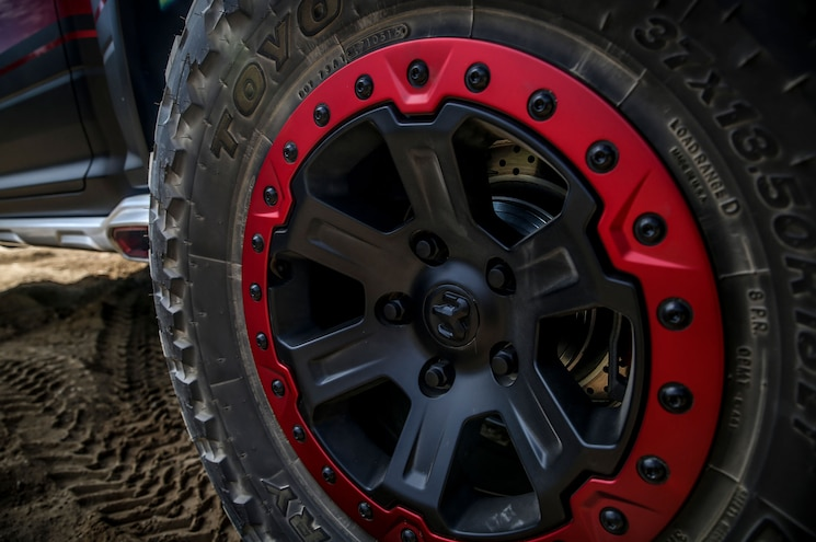 Ram Rebel Trx Concept Beadlock Wheel
