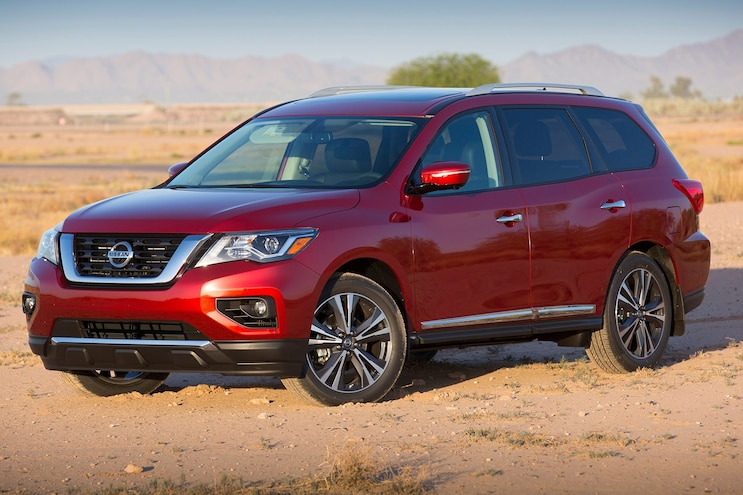 2017 Nissan Pathfinder Gets Five-Star Crash Test Rating from NCAP