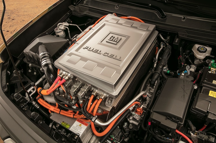 Chevrolet Colorado Zh2 Fuel Cell Exterior Fuel Cell Engine
