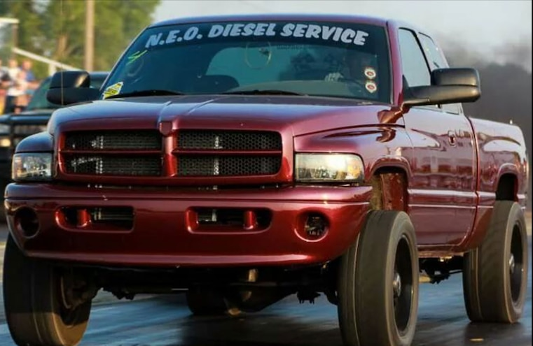 2002 Dodge Ram 2500 Diesel Front BrandonGrapevine