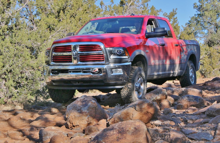 2014 Ram Power Wagon On Kelly Point Road
