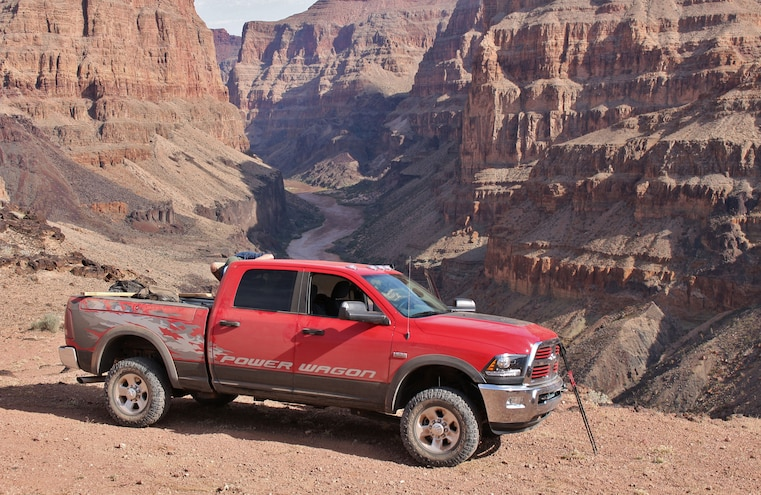 2014 Ram 2500 Power Wagon To The Grand Canyon
