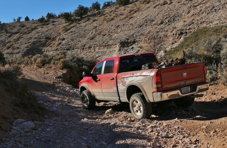2014 Ram Power Wagon On Grand Gulch Mine Road