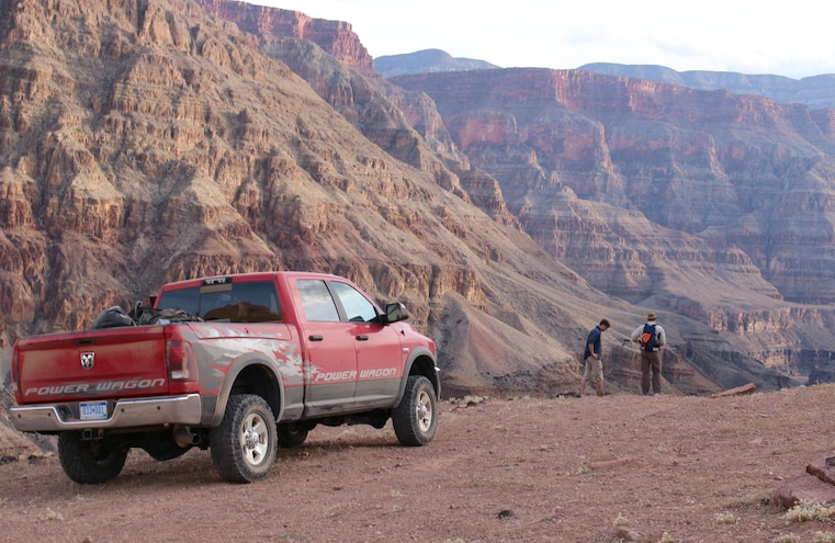 2014 Ram Power Wagon To Grand Canyon