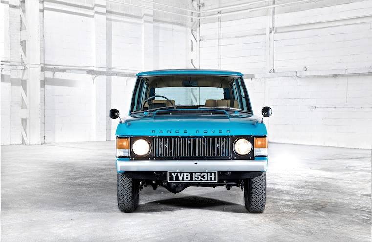 Classic Range Rover Front Shot