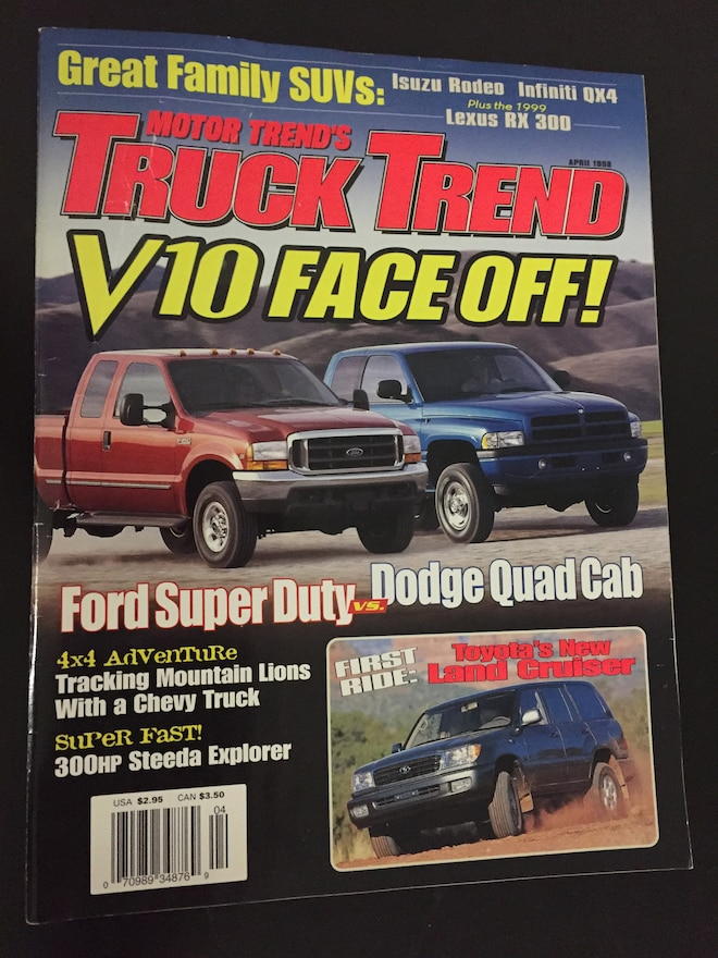 Truck Trend Magazine Covers April 1998