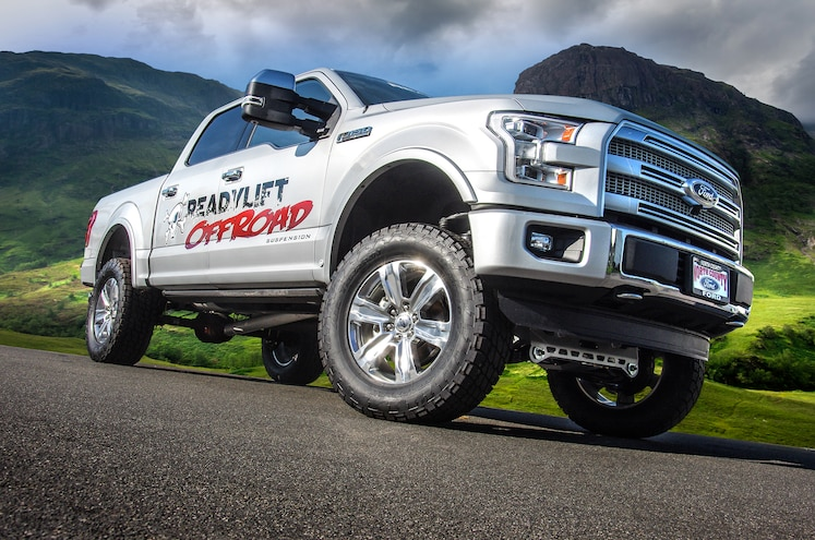 ReadyLift 7-inch Lift Kit For The 2015 Ford F-150