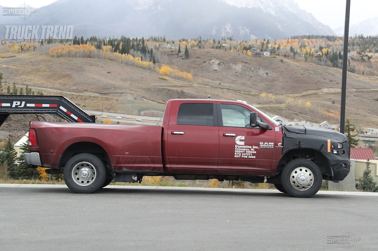 SPIED: 2018 Ram 2500/3500 Heavy Duty With Updated Cummins?