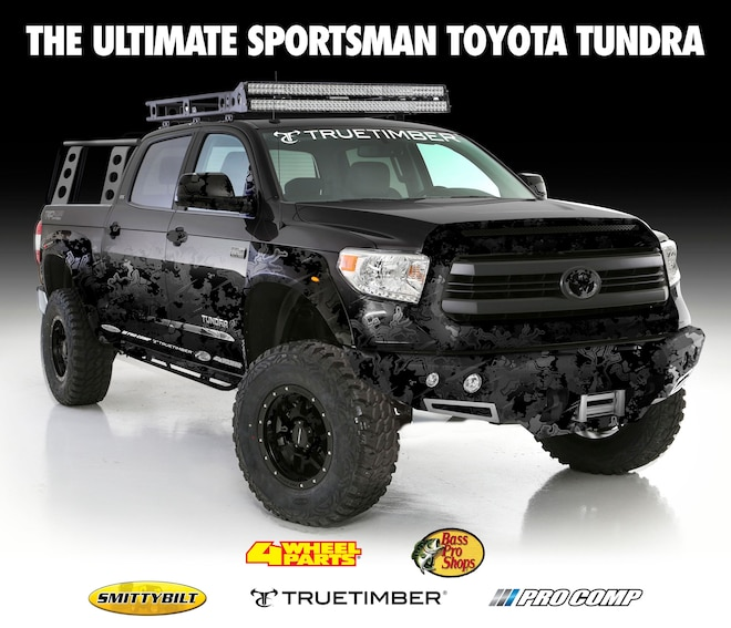 Transamerican, Bass Pro Shops Team Up on SEMA Tundra Build