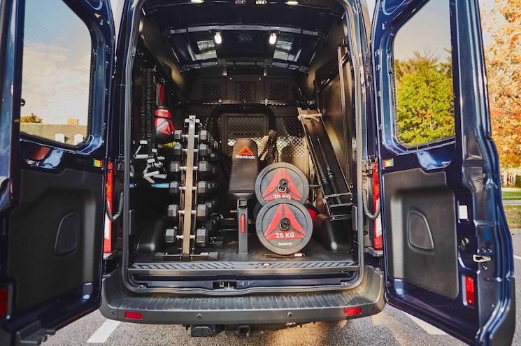 2016 Ford Transit 250 Reebok Fit Truck Rear