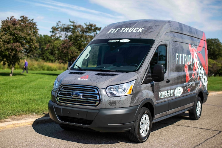 Ford, Reebok Team Up to Take Fitness on the Road