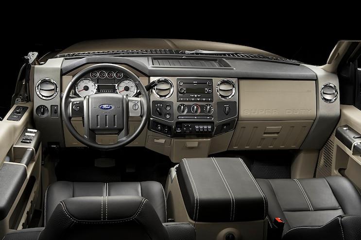 2008 Ford F Series Super Duty Interior