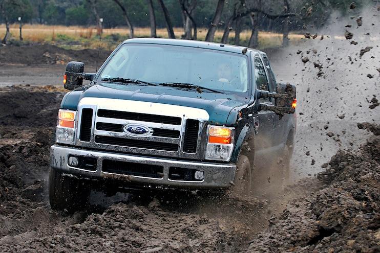 2008 Ford F Series Super Duty Black Mud