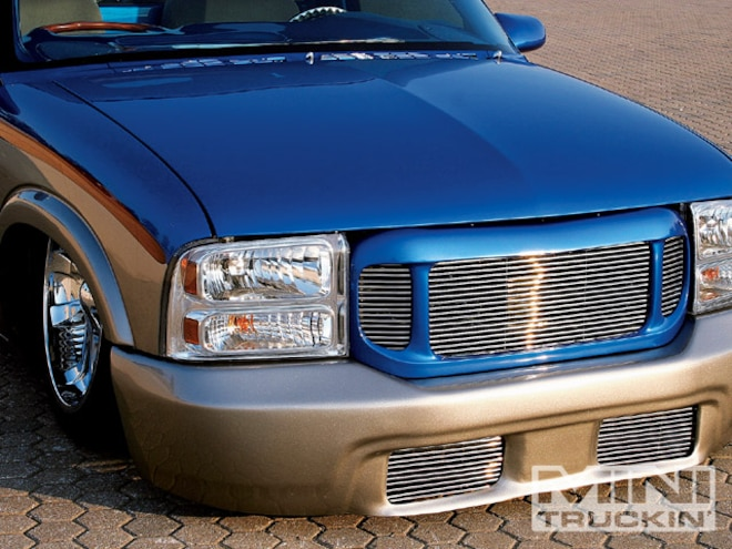 Chevy S10 Front End Swaps - First Generation - Mini Truckin' Magazine