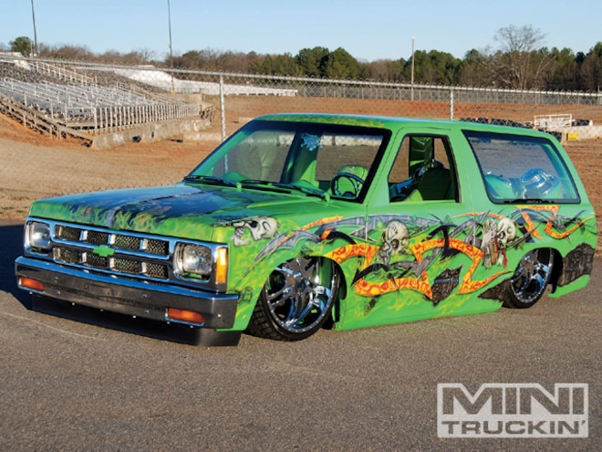Chevy S10 Front End Swaps - First Generation - Mini Truckin