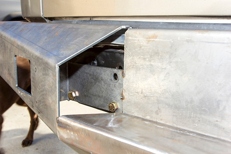 Move Weld It Yourself Bumper Build Centered Outer Wings