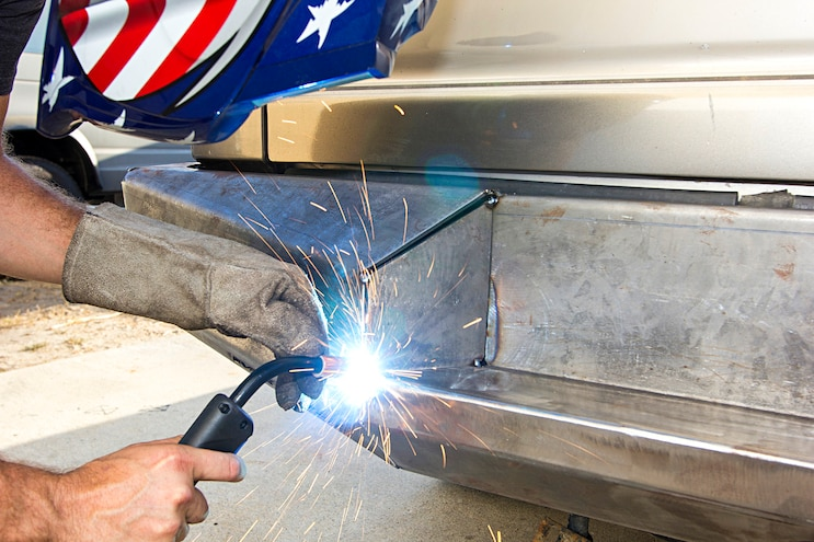 Move Weld It Yourself Bumper Build Tack On Inner