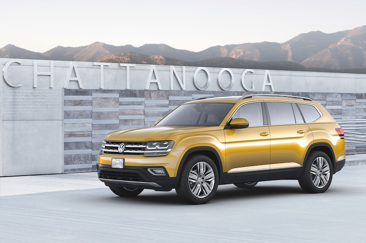 Volkswagen Reveals All-New 2018 Atlas Seven-Seat SUV