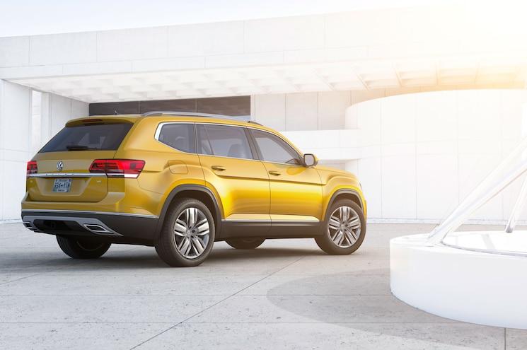 2018 Volkswagen Atlas Rear Three Quarter Static