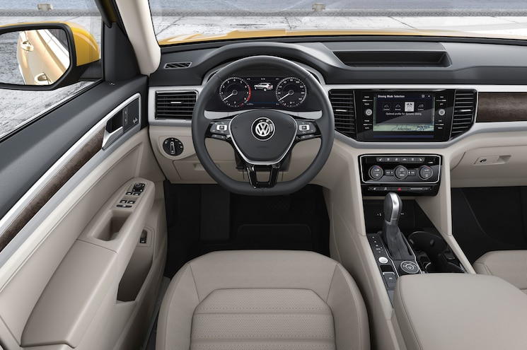 2018 Volkswagen Atlas Steering Wheel