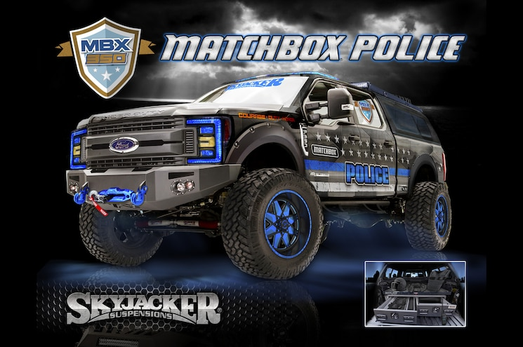 2017 Ford F 350 Super Duty Skyjacker Matchbox
