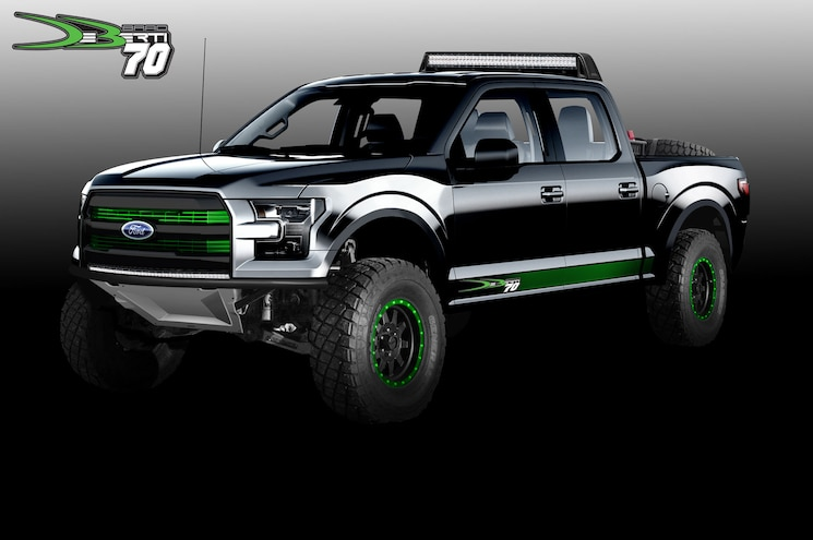 #TENSEMA16: Ford Shows Off Custom Super Duty, Raptor, and Transit Before SEMA 2016
