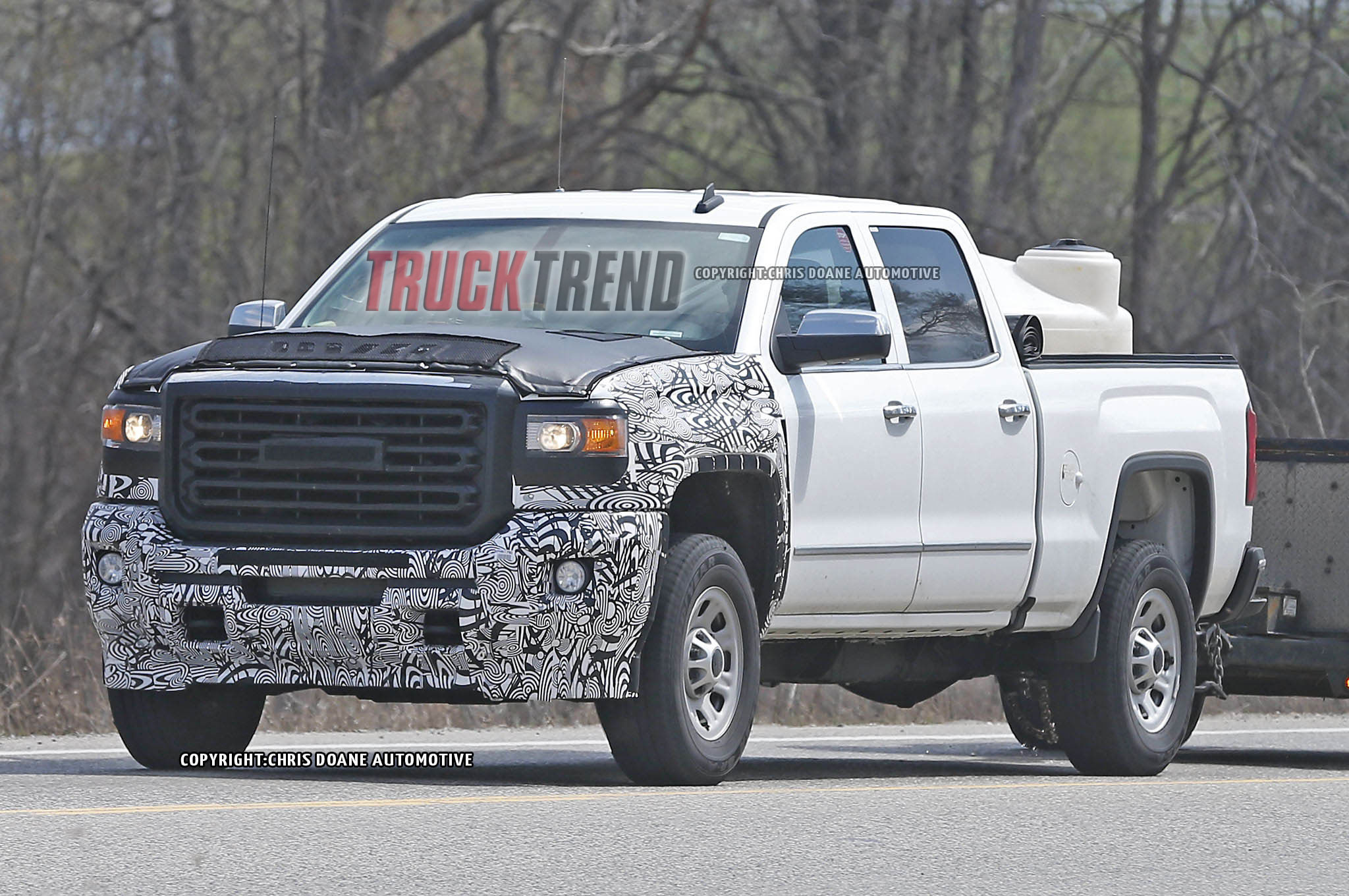2017 Gmc Sierra Hd Left Front Angle