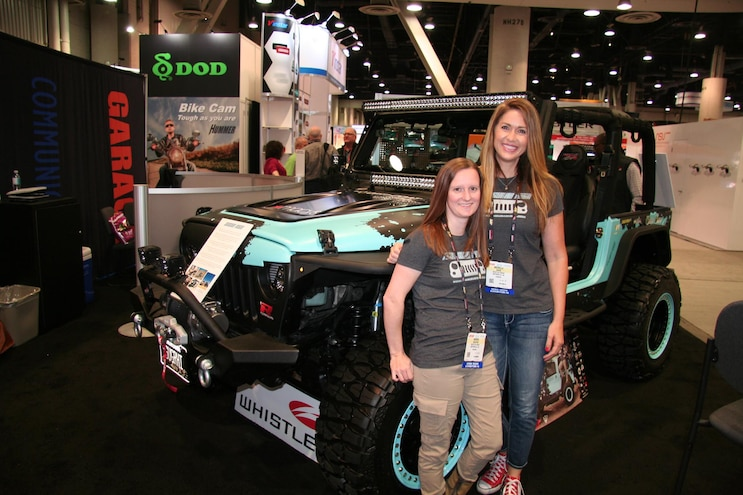 050 2016 Sema Show North Hall Davis Shaffer Sugar High Rebelle Wrangler