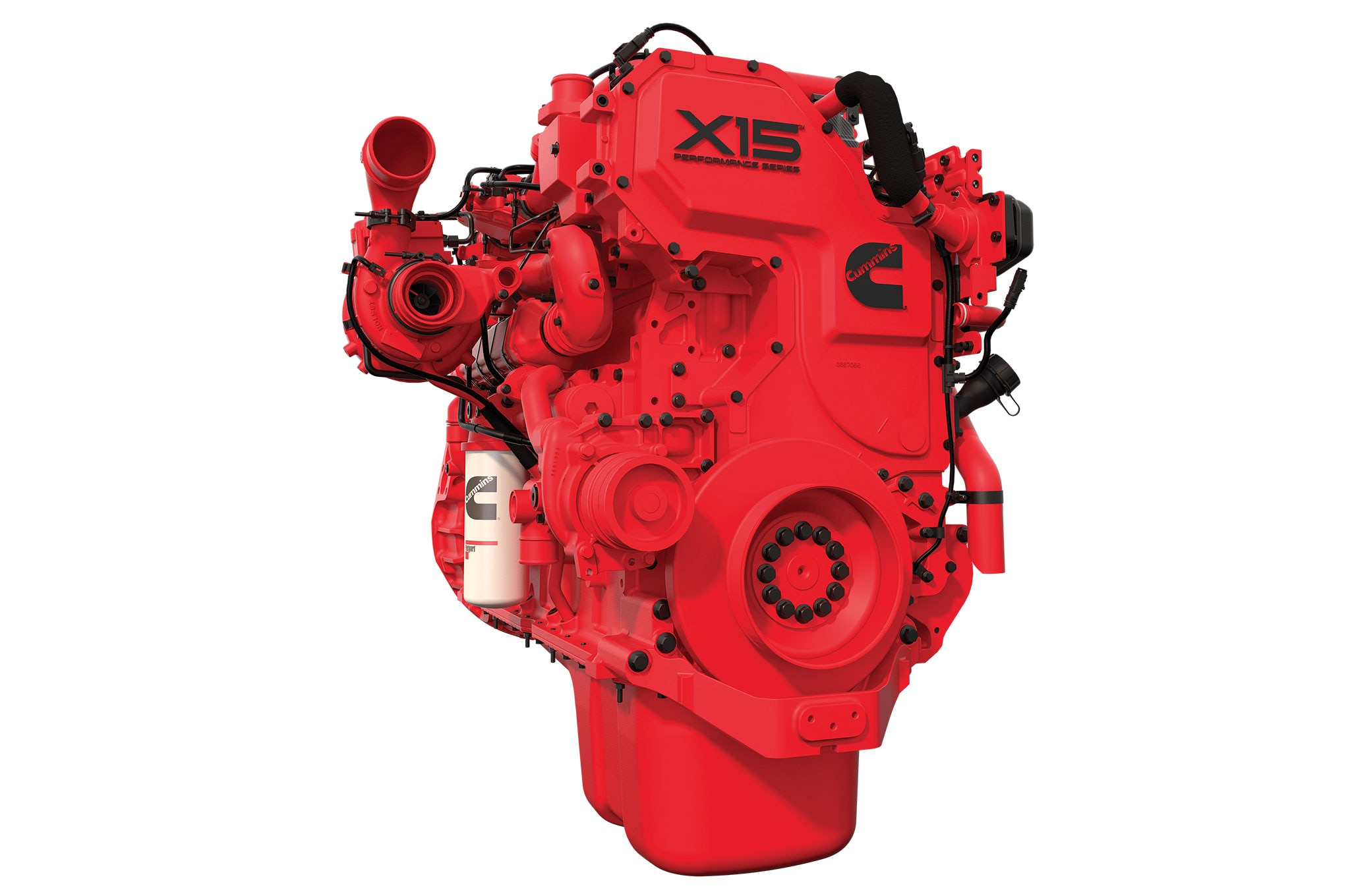Heavy-Duty Truck Engine, The Cummins X15