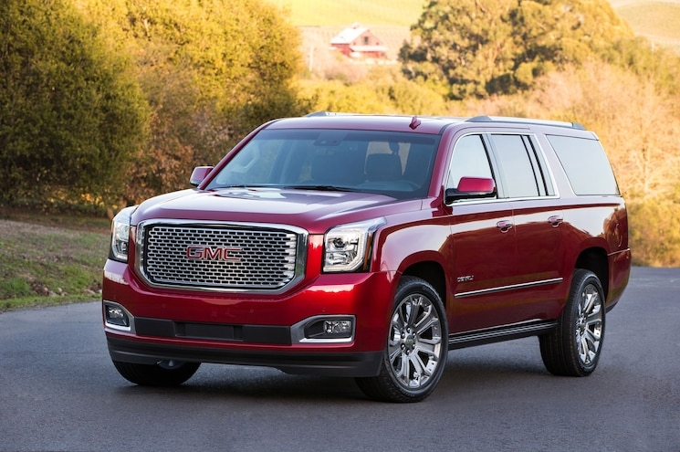 2016 GMC Yukon, Denali Get Minor Updates