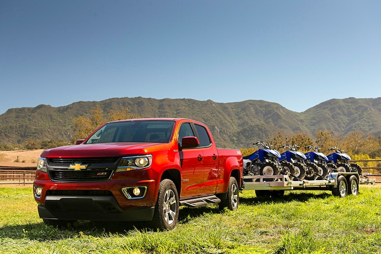 2016 Chevrolet Colorado Front Driver Towing
