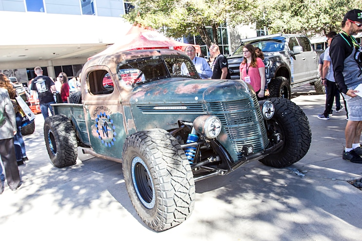 Trucks Of The 2016 Sema Show Rat Rod