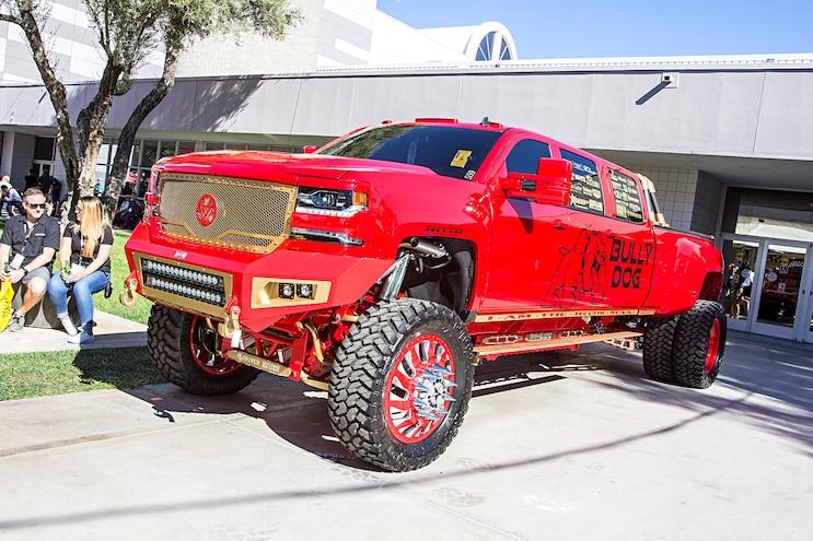 Trucks Of The 2016 Sema Show Six Door 2016 Chevy Silverado