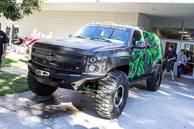 Trucks Of The 2016 Sema Show Chevy Tahoe
