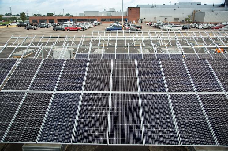 General Motors Renewable Energy Wind Sun Landfill
