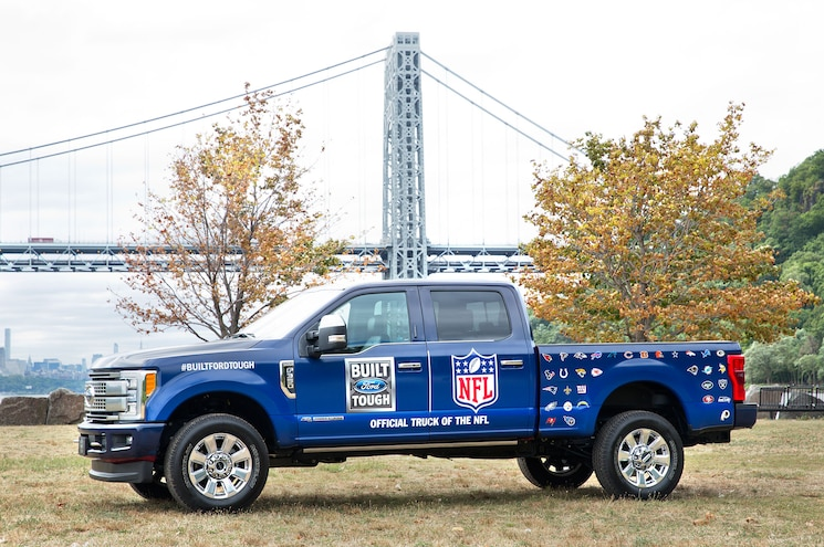 Ford Fseries Nfl Super Bowl Official Truck
