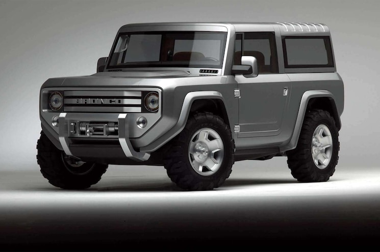 2020 Ford Bronco May Receive Dana Solid Axles Front and Rear