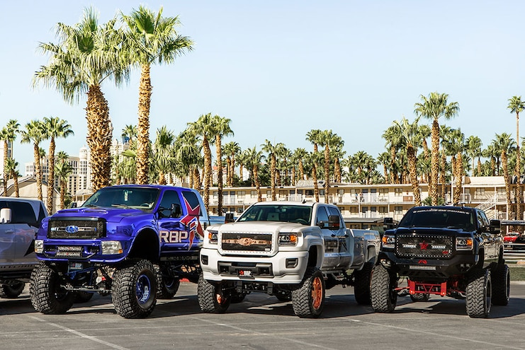 Rolling Big Power 2016 SEMA Show Trucks #TENSEMA16