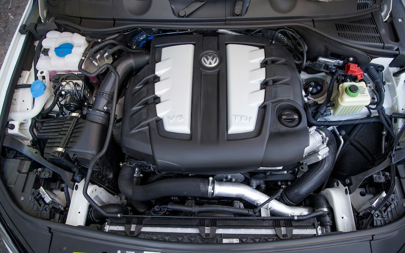 2013 Volkswagen Touareg TDI 3.0L V 6 Engine 1
