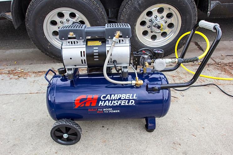 Campbell Hausfeld Quiet Compressor: Tools of the Trade