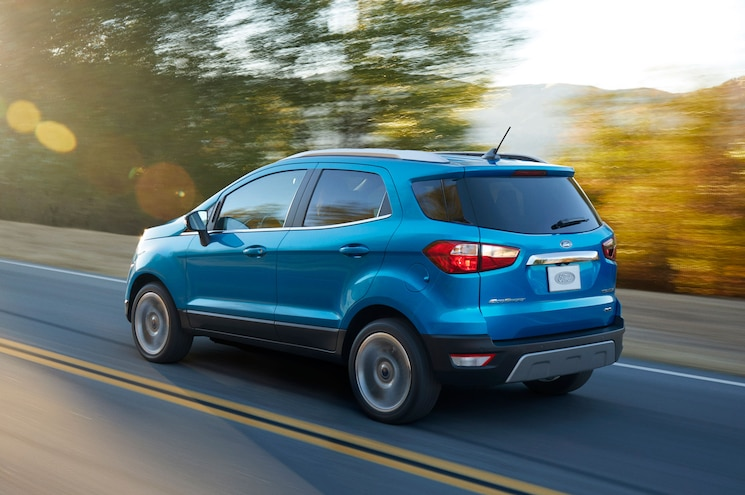 2018 Ford Ecosport Titanium Left Rear Driving