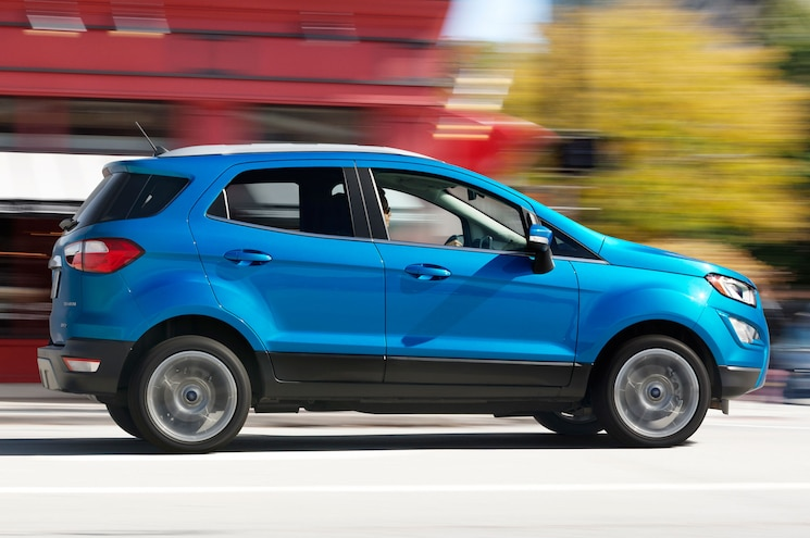 2018 Ford Ecosport Titanium Right Side View