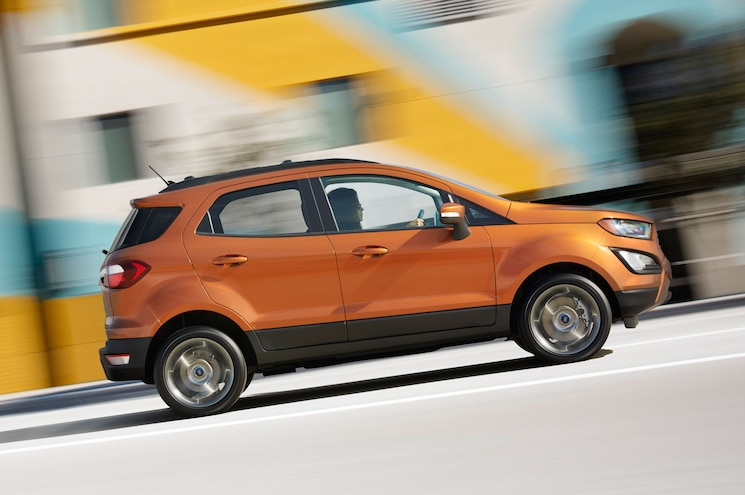 2018 Ford Ecosport Ses Right Side View