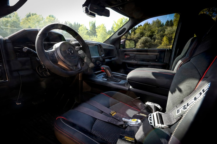 Auto News 8 Lug Work Truck Ram Rebel Trx Concept Interior