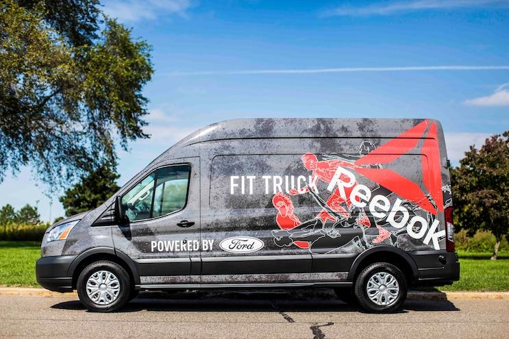 Auto News 8 Lug Work Truck Ford Fittruck Transit Van Reebok Exterior