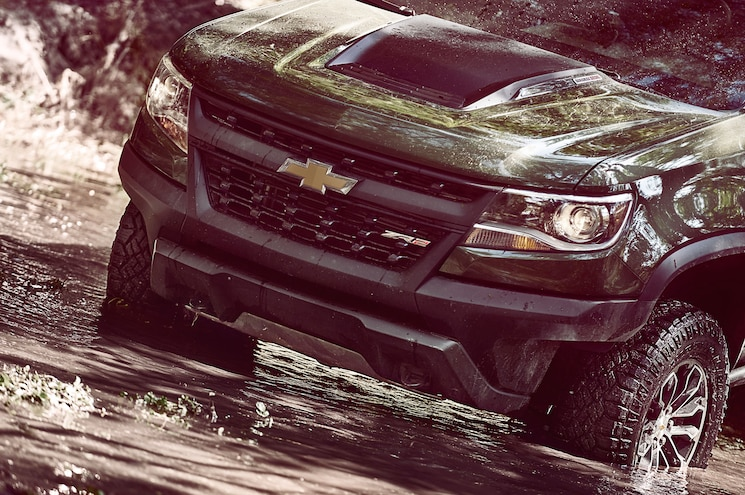 2017 Chevrolet Colorado Zr2 Front End In Water