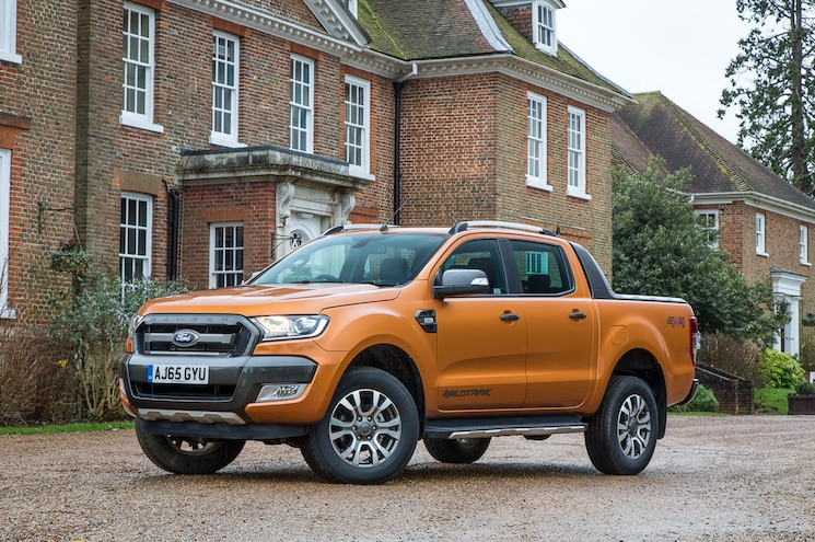 2015 Ford Ranger Wildtrak Euro Spec Front Three Quarter